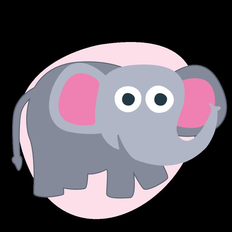 Kidiyo karakter dier olifant