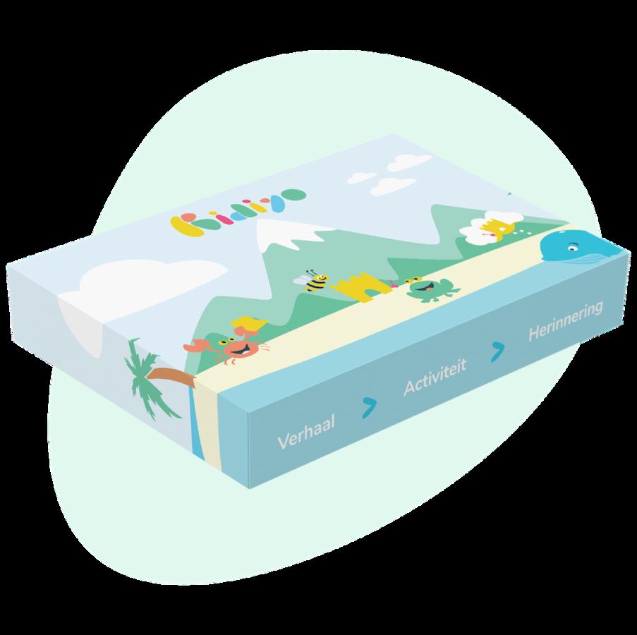Kidiyo box met activiteiten en avonturen